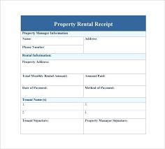 Paid Receipt Template Word Rent Payment Receipt Template Word Meltfm Co