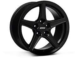 Mustang Saleen Style Black Wheel 17x9 94 98 All Car Wheels Rims Car Wheel Cover Black Wheels