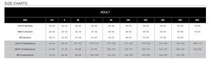 Holloway Apparel Size Chart Hol 229542 Holloway Range Jacket