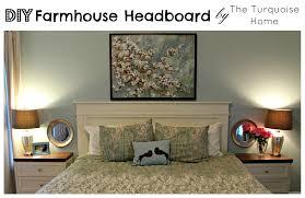diy farmhouse headboard how to