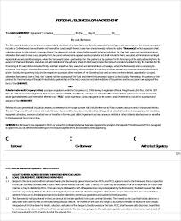 Family Loan Template Personal Family Loan Agreement Family Loan Agreement Template Wcc