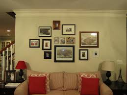 Small And Large Picture Frame On Wall Come With Square Shaped Plus Wall Picture Frames For Living Room