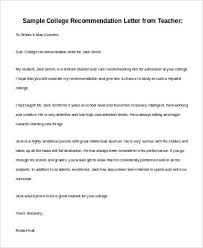 how to write an recommendation letter basic letter of recommendation samples 30 download free