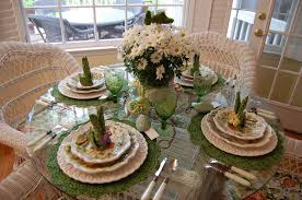 Table Ideas: Easter Table Settings Ideas For Minimalist Table Decoaring -  Easy Fresh Easter Table