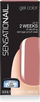 sensationail gel polish pink