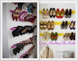 sweety crown molding shoe rack and closet idea storage ideas gel nail designs ideas