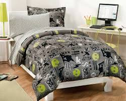 design extreme sports skateboard bedding for teen boys twin or full of black bed set full