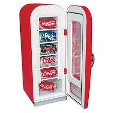 Mini Drink Vending Machine Delectable SODA VENDING MACHINE Mini Fridge Retro Coca Cola Vintage Beverage