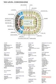 Smoothie King Seating Chart Smoothie King Center Guide Itinerant Fan