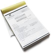 receipt book printing carbonless ncr forms printing invoices and receipt books