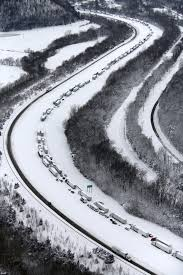 Hundreds of stranded drivers FINALLY on the move after some were ...