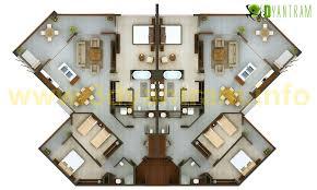 Restaurant kitchen layout 3d Luxury Hotel Restaurant Floor Plan 3d Design Apartment Interior Design Restaurant Floor Plan 3d Design Apartment Interior Design