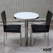 custom made stain resistant solid surface table tops dining tables round coffee tables