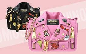 moschino online store spring summer 17 collection biker bags