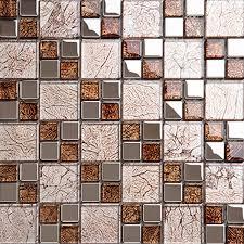 making glass mosaics kitchen tiles design decorative wall art tile