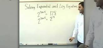 how to solve exponential and logarithmic equations math wonderhowto