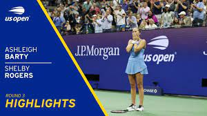 Ashleigh Barty vs Shelby Rogers ...