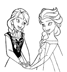 Small Picture Print this Elsa coloring page out or download