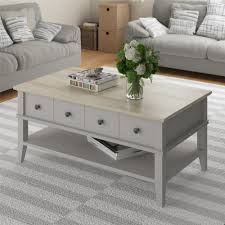top design furniture. August Grove Coffee Table For Your Living Room Design: Best Grey Top Design Furniture O