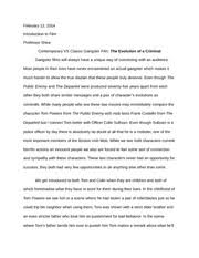 rear window essay professor shea introduction to film rear 3 pages the evolution of a criminal essay