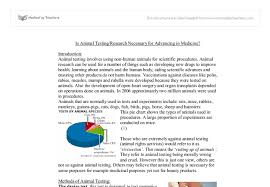 animal testing gcse science marked by teachers com document image preview