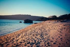 Beach Summer Sand Sun Sea Waves Free Stock Photo Negativespace