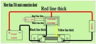 ammeter shunt wiring diagram wiring diagram and hernes 12v dc shunt wiring diagram home diagrams