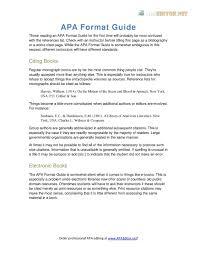 Calaméo Apa Format Guide