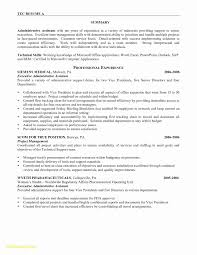 Sample Resume For Administrative Assistant Position Resume Sample Administrative Assistant Position Refrence Resume 5