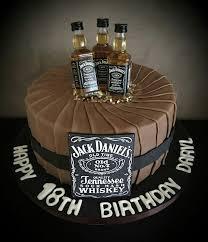 41974962 Jack Daniels Birthday Cake Awesome Cakes 18th Birthday