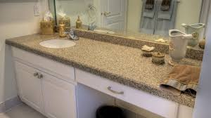 fabulous bathroom vanities with tops choosing the right countertop in sink combination