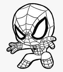 39+ cartoon spiderman coloring pages for printing and coloring. Homem Aranha Baby Spiderman Coloring Pages Hd Png Download Kindpng