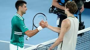 The winner will play stefanos tsitsipas or alexander zverev in sunday's final. Tennis Tour Djokovic Und Zverev Gegen Ruckkehr Zum Normalen Betrieb