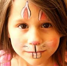 bunny face paint