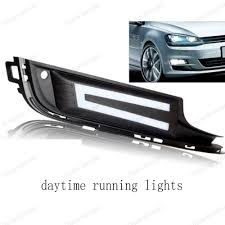 2015 Vw Gti Daytime Running Lights Car Accessory Turning Signal Lighting Fog Lamp Daytime