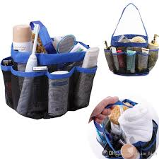 2019 storage bags quick dry hanging mesh 8 pocket shower caddy tote organizer cosmetics bath bag perfect for dorm gym camp travel from dream high