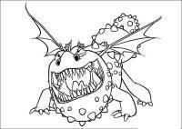Draghi Di Berk Da Colorare Dragon Malicieux