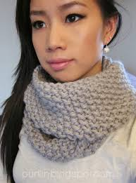 Knit Infinity Scarf Pattern Interesting Purllin December Seed Stitch Infinity Circle Scarf [ Free Knitting