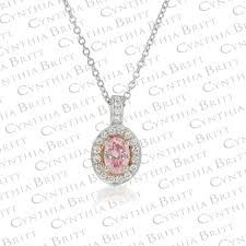 argyle pink 0 32 carat diamond pendant 0
