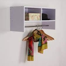 homcom wall mounted coat hanger hooks