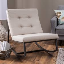 Modern Rocking Chair Belham Living Holden Modern Indoor Rocking Chair Upholstered