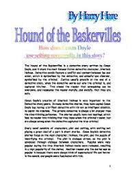 the hound of the baskervilles is a detective story written by page 1 zoom in