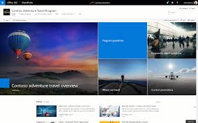 Office 365 Website Design Custom SharePoint Communication Sites Begin Rollout To Office 48 Customers