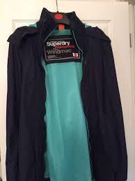 superdry superdry mens superdry ping blue superdry windcheater jacket superdry jackets