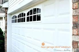garage door glass inserts plastic doors hinged faux windows painting on custom good wayne dalton window