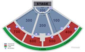 Freedom Hill Seating Chart With Seat Numbers Michigan Lottery Amphitheatre At Freedom Hill Sterling
