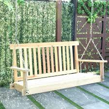 garden swing bench 4 ft porch outdoor patio swing natural wood porch swing cushions garden swing
