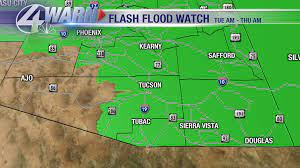 Flash Flood Watch continues for parts ...