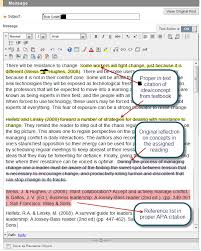 Apa Citation In Text Discussion Board Formatting Issues Requirements
