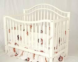 new florida state crib bedding white background